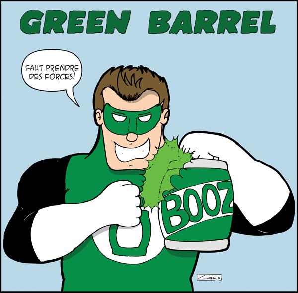 Héro Saoul #4: Green Barrel