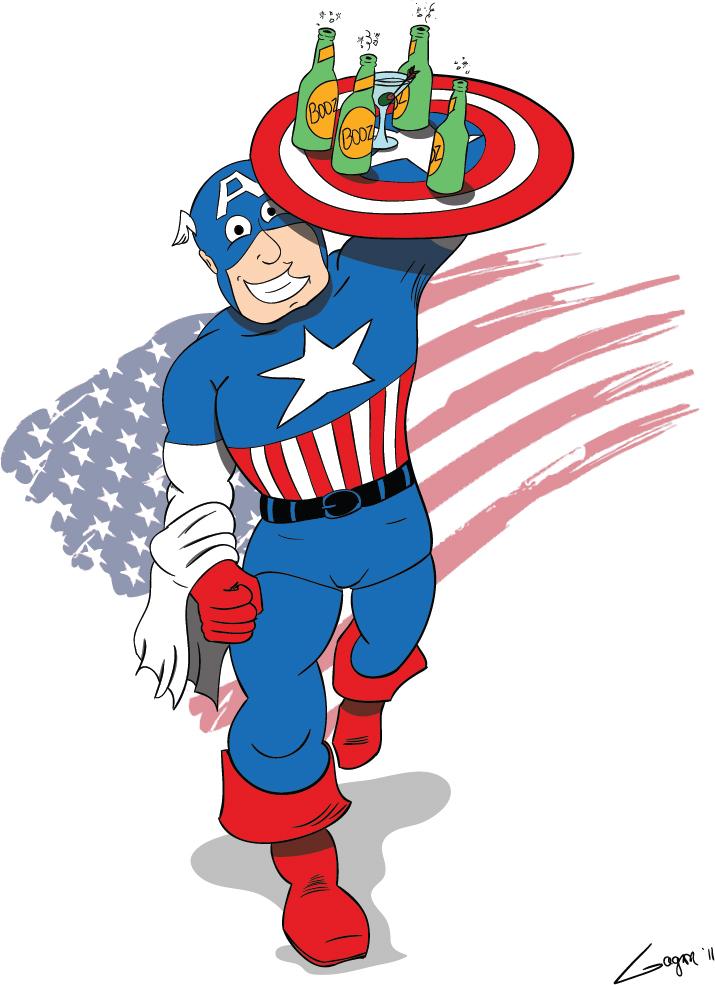 Héro Saoul #7: Capitaine America